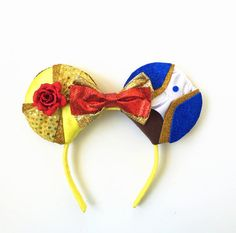 Beauty and the Beast Ears Belle Ears Belle by ToNeverNeverland