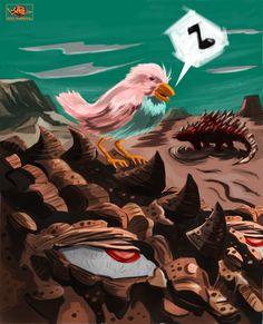ArtStation - Croc-o-Beast!, Moe Murdock