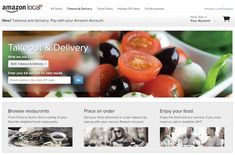 Amazon launches a restaurant takeout and delivery service