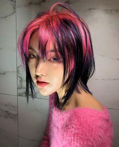 Dye My Hair, New Hair, Hair Inspo, Hair Inspiration, Haircuts Straight Hair, Hair Color Streaks, Alternative Hair, Hair Reference, Coloured Hair