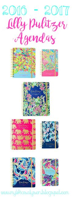 SO EXCITED!!! Lilly agendas are finally out and ready to be purchased! Pick up yours now! Lilly agendas have kept me sane for the past two years of school and now I'm getting one for my multiple AP classes. The fun patterns will let you see the brightness of summer in the dullest of winter days. These agendas have very many organizational features so you will never get cluttered while using this! #lillypulitzer #agendas #planners #lillypulitzeragendas #backtoschool