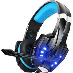 BENGOO Stereo Gaming Headset for PC Xbox One Controller Noise Cancelling Over Ear Headphones with Mic LED Light Bass Surround Soft Memory Earmuffs for Laptop Mac Nintendo Switch Games - Nintendo Switch Games - Trending Nintendo Switch Games - Xbox One Controller, Xbox One Headset, Best Gaming Headset, Nintendo Ds, Nintendo Switch Games, Ps3 Games, Bass Headphones, Gaming Headphones, Skullcandy Headphones