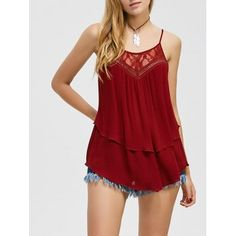 SHARE & Get it FREE | Lace Trim Layered Tank TopFor Fashion Lovers only:80,000+ Items·FREE SHIPPING Join Dresslily: Get YOUR $50 NOW!