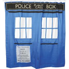 Shower Curtain by Doctor Who