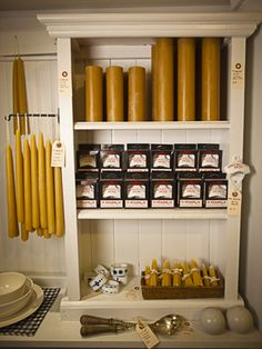 Brook Farm General Store in Brooklyn:     A modern general store that features everything from chic office supplies and Egyptian cotton towels to straw market baskets and handmade beeswax candles. The store also sells its own line of organic home goods under the name Tourne.     (718-388-8642; brookfarmgeneralstore.com)