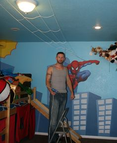 1000 Images About Superhero Bedroom On Pinterest