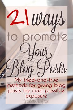 Today, I thought I'd share my favorite methods for promoting blog posts! Over the years, I've acquired quite a few tricks up my sleeve on how to get blog posts in front of the most readers. Sometimes I'm the one promoting and sometimes I have ways of encouraging others to share my content. Both are …
