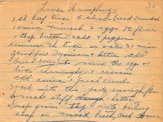 Liver Dumplings 1930s | Yesterdish