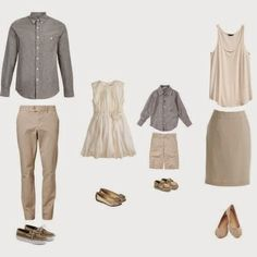what to wear photography neutrals