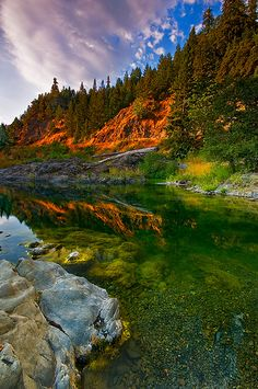 Eel River, California is one of my favorite places to camp.