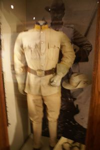 Roosevelt's Rough Rider Uniform, made for him by Brooks Brothers