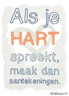 Als je hart spreekt