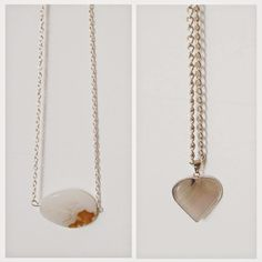 ON THE BLOG! My August Favorites! Stone pendants!