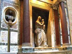 Grab Raffaels im Pantheon