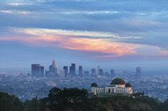 Dusk in Los Angeles  #city #dusk #angeles