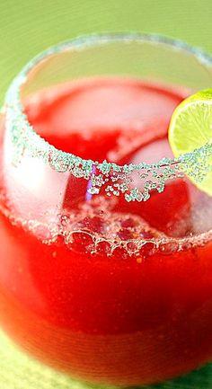 Key Lime Raspberry Margarita Recipe