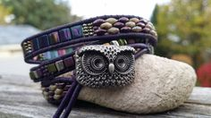 We LOVE this Triple Wrap Bracelet that was sent to us by Pinky L. The Owl…