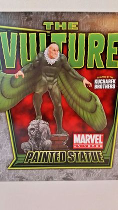 """BOWEN DESIGNS MARVEL """"THE VULTURE"""" Stands over 17 Inches Strictly Limited Neu! The Brethren, Vulture, Marvel Universe, Sculpting, Comic Books, Statue, Enemies, Comics, Ebay"""