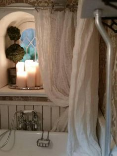 Shower curtain - My First Dollhouse - Beacon Hill - Gallery - The Greenleaf Miniature Community