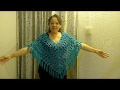 Bolero Chaleco a Crochet Tutorial para Principiantes - YouTube