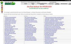 PSORIAZIS-CORESPONDENTA  DENIPLANT: Discutii cu bolnavii de psoriazis Ale, Words, Plant, Ale Beer, Horse, Ales, Beer