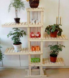 flower holder - http://zzkko.com/n170380-eft-right-left-wood-planter-/-Interior-Shelves-/-pot-holder-/-flower-pot-rack-floor-home-multilayer.html $15.00