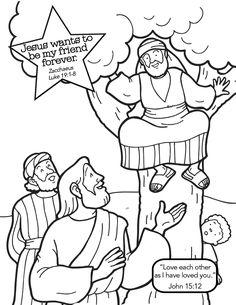 """Zacchaeus"" (Luke 19:1-8)"