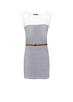 Vestido marinero algodón by MANGO