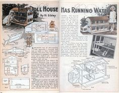 This Doll House Has Running Water