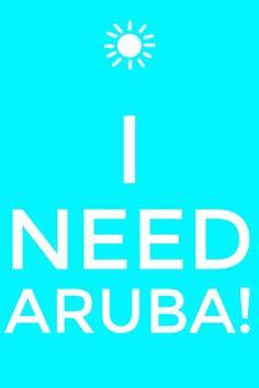 I'm thinking and thinking and thinking....#aioutlet I need #Aruba in my life right now!