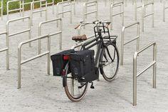 Basil Kavan 2014 kopen? Stevige dubbele fietstas gemaakt van waterafstotend canvas