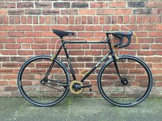 Raleigh Record Sprint Aerospace Contour fixed fixie conversion