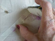 Molly Flanders Makerie: Hand Quilting....Pick Stitching....A Tutorial....