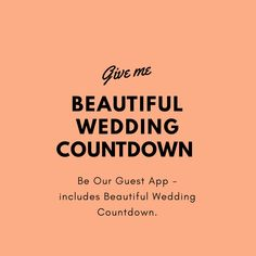 Be Our Guest is a digital solution for the wedding guest experience. Invites, photo sharing, games, wedding planning and much more! Wedding Games, Wedding Events, Our Wedding, Wedding Planning, Weddings, Quirky Wedding, Green Wedding, Invites, Wedding Invitations