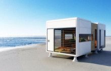 Sculptural Portable House Covered in Closable Panels | Designs & Ideas on Dornob