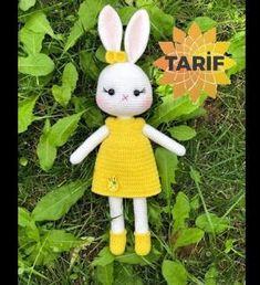 Crochet Bunny, Crochet Animals, Crochet Disney, Amigurumi Doll, Baby Toys, Hello Kitty, Rabbit, Teddy Bear, Dolls