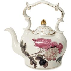 ♥•✿•♥•✿ڿڰۣ•♥•✿•♥  Rose Teapot   ♥•✿•♥•✿ڿڰۣ•♥•✿•♥
