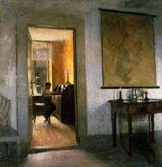 Boy Studying - Peter Ilsted c.1900 Danish 1861-1933