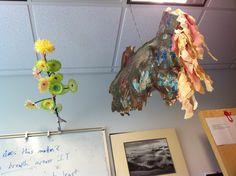 prototype electric flowers (part 3) plus ceiling-fish