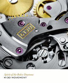 Rolex Cosmograph Daytona 4130 movement. #RolexDaytona #RolexOfficial