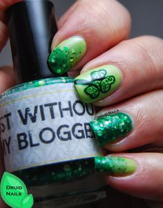 Druid Nails: FingerFood's Theme Buffet - St Patrick's Day