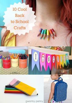 10 Cool Back-to-School Crafts to Make