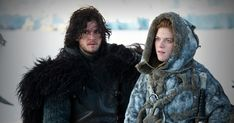 I love them so much - Jon Snow and Ygritte!