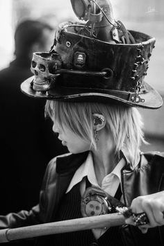 mad hatter | Found on what-the-hell-is-steampunk.tumblr.com