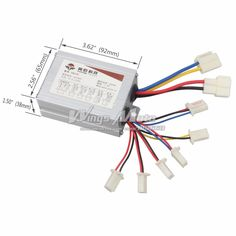 Electric Bicycle Speed Controller Handsome Appearance E-bike 800w Dc 60v 15 Mofset Brushless Controller Bldc Motor Controller E-scooter