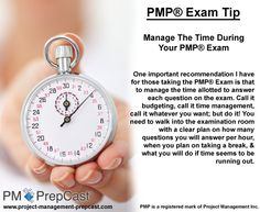 #PMP Exam Tip: Manage The Time During Your PMP Exam