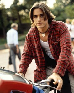 Jared Leto as Jordan Catalano... When the love affair began