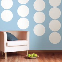 Wall Pops Ghost White Dot Wall Decals WPD90203 or something like for Kat?