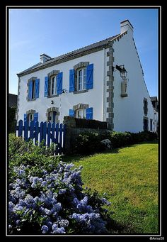 Saint Cado - Maison Bretonne | Flickr - Photo Sharing!