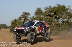 Rali de Marrocos / Team Peugeot